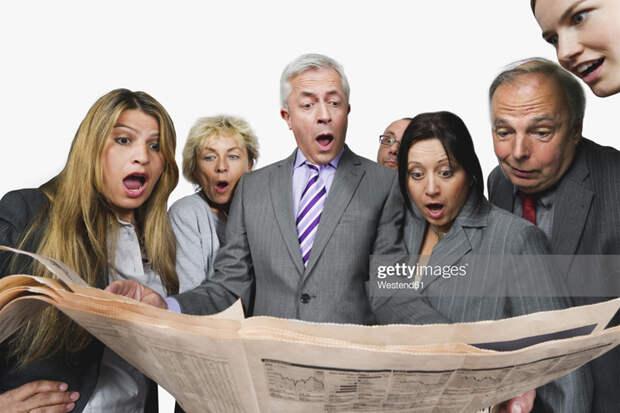 О безусловно шокирующих новостях из США
