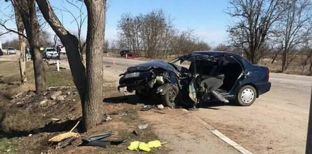 Девушка-водитель погибла в ДТП на крымской трассе