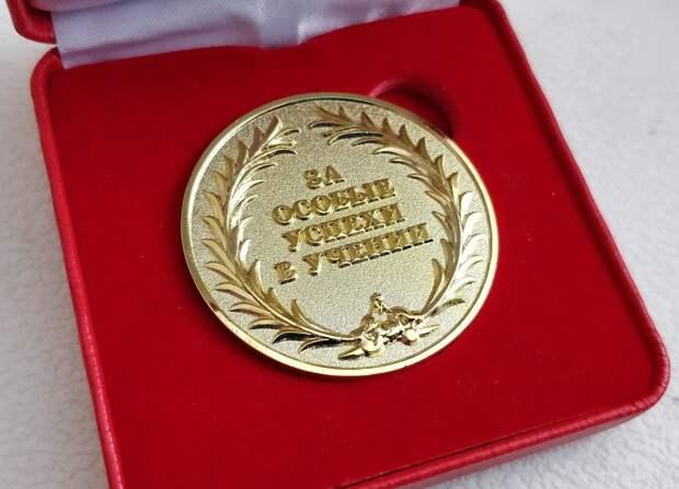 218 выпускников школ Ижевска стали золотыми медалистами