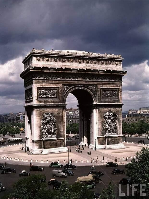 Последнее мирное лето довоенного Парижа, 1939год