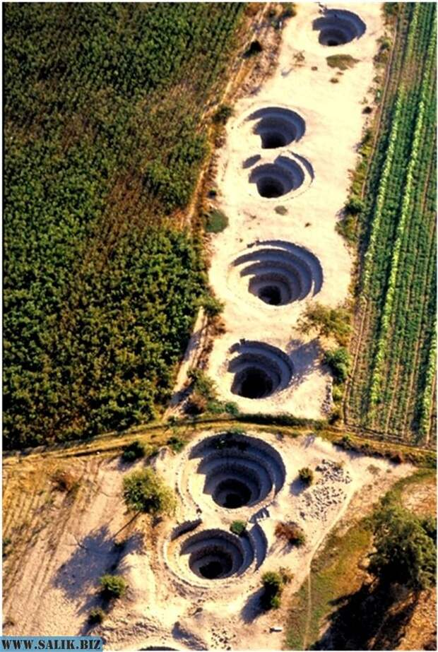 Рис. 2. Подземный водопровод Наска.