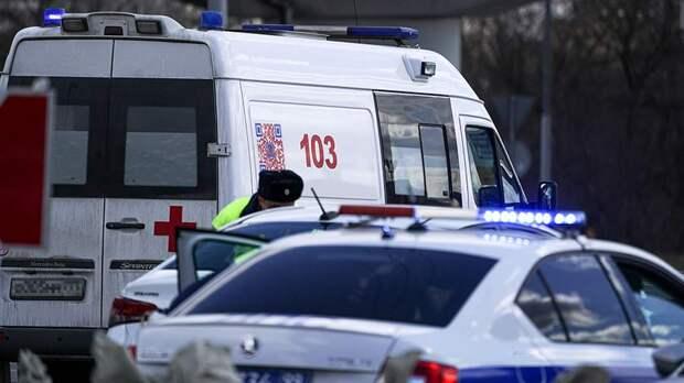 Автобус вылетел с дороги на Ставрополье