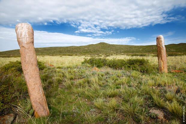 Балбалы, найденные в Актогайском районе Карагандинской области