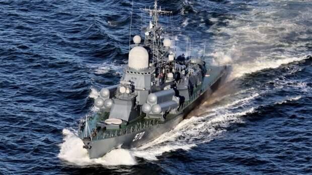 Военно-морские учение российского флота завершились в Тихом океане