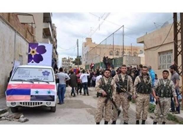 Сирия в противостоянии с Украиной и Турцией