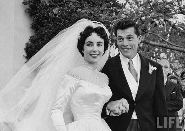Первая свадьба Элизабет Тейлор (18 фотографий), photo:8