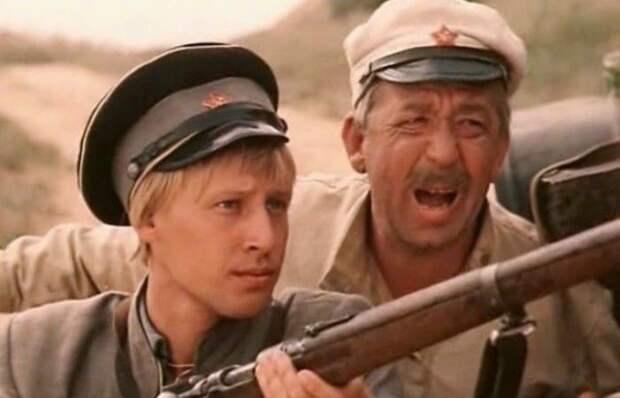 Дмитрий Харатьян и Борислав Брондуков в фильме *Зеленый фургон*, 1983 | Фото: e-news.su