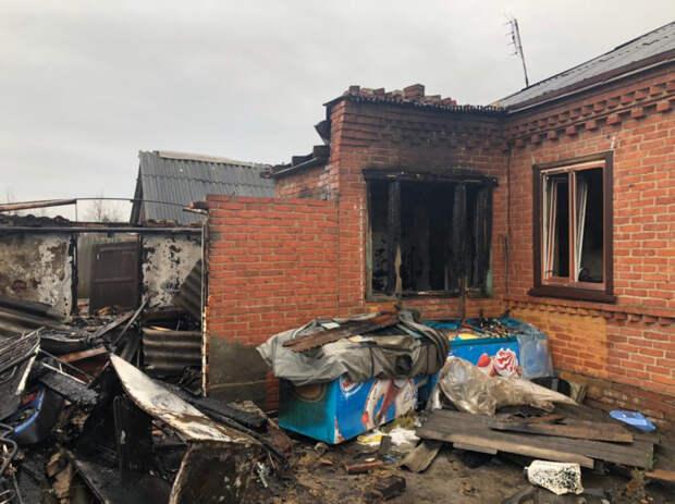 На Кубани идет проверка по факту гибели пенсионера при пожаре