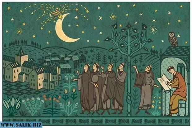 Что случилось с Луной в 1178 году?