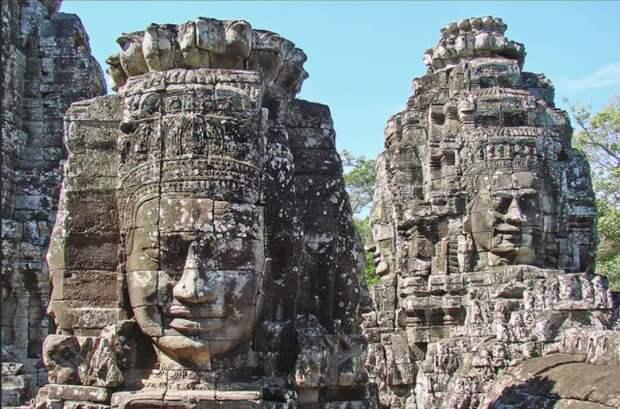 каменные головы Камбоджи