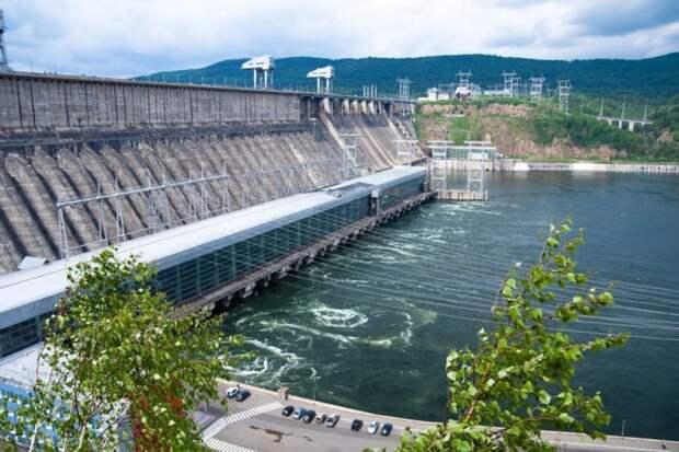 7 место. Красноярская ГЭС гидроэлектростанции, сооружения, топ-10