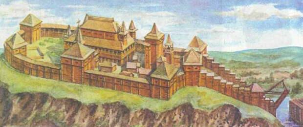 Любеч. Крепость не древнерусская, но средневековая.