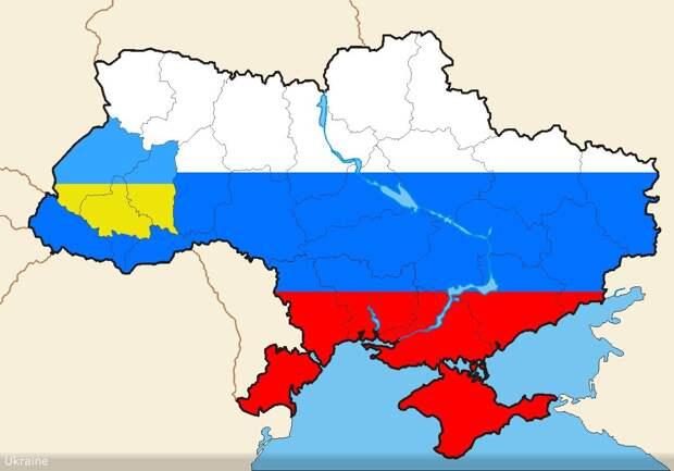 Украине предлагают провести референдум о возвращении в состав Большой России
