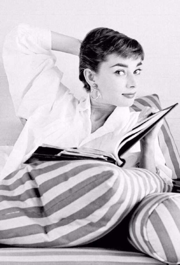 Вдохновение: домашние образы Одри Хепберн