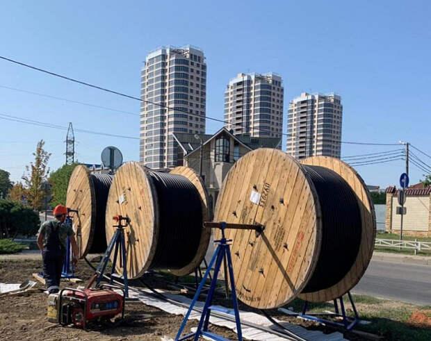 В Краснодаре закончился первый этап модернизации электросетей