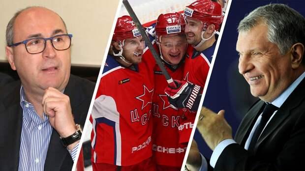 Чемпион КХЛ снова собирает суперкоманду. ВЦСКА забыли опотолке зарплат?