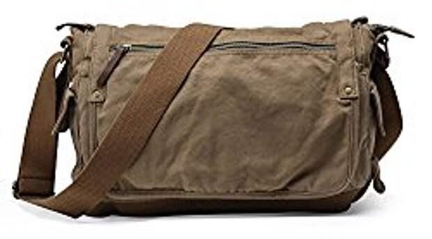 холщовая сумка через плечо