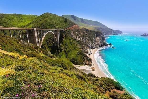 5. Тихоокеанское шоссе (Pacific Coast Highway), США красивые места, места, мир, путешествия, рейтинг, страны, туризм, фото
