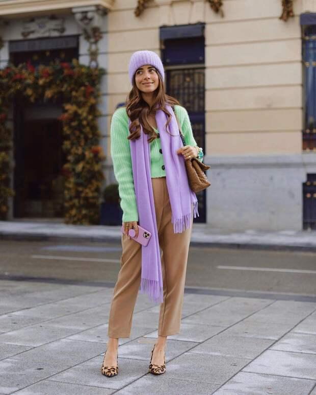 Оттенки в одежде, которые настроят вас на весну