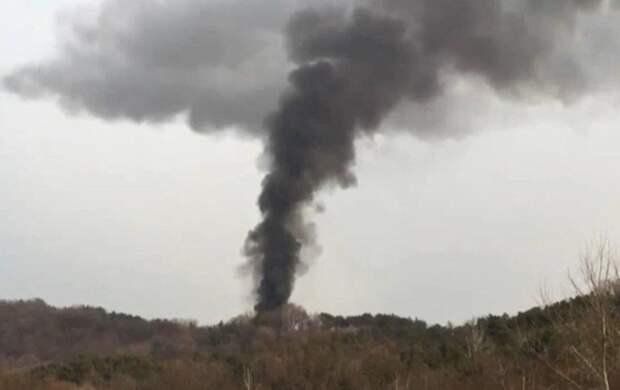 В Дагестане упала неопознанная ракета