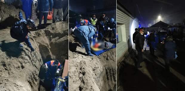 Мальчика в Павлодаре вызволяли из ямы с альпинистским снаряжением, он госпитализирован
