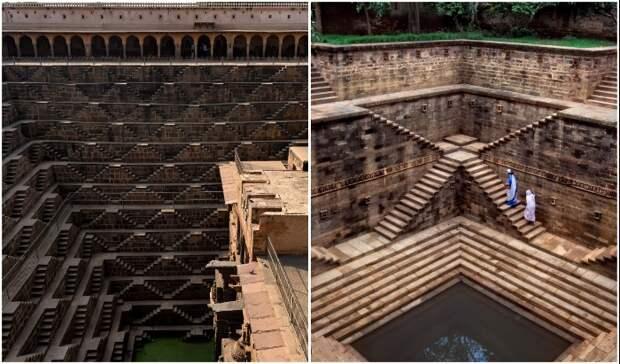 Ступенчатые колодцы Индии, или Куда ведут подземные лестницы