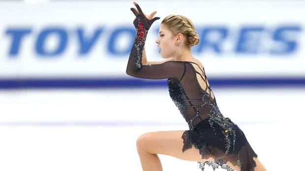 Трусова провалила короткую программу на Гран-при России: видео