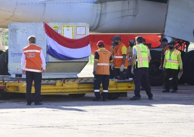 Первую партию «Спутника V» доставили в Парагвай