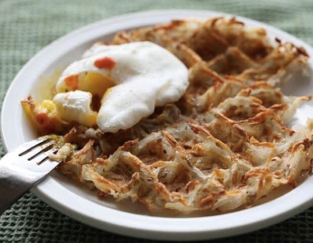 7 потрясающих блюд из вафельницы