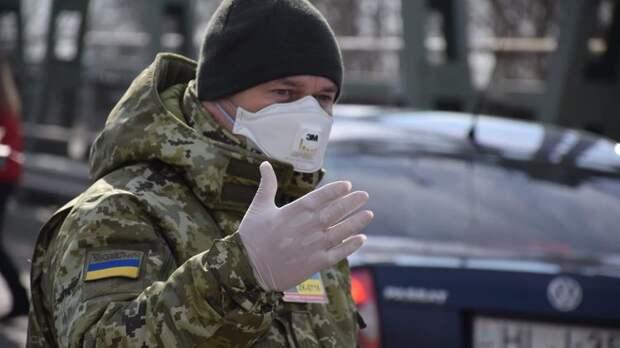 Коронавирус в Украине. Границы закрылись. Фото Госпогранслужбы