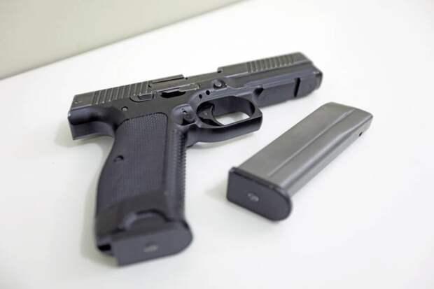 Гражданская версия пистолета Лебедева