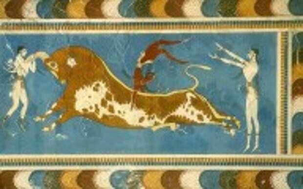 Минойцы были европейцами