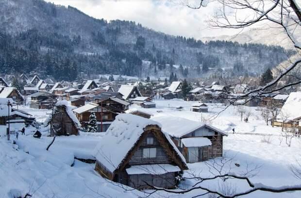 Японские деревни минка - чем они отличаются от русских деревень