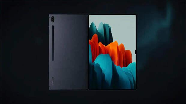 """Новый планшет от Samsung получит экранный вырез в виде """"моноброви"""""""