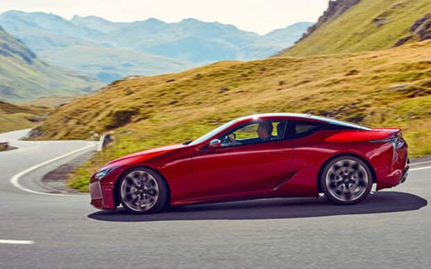 Lexus LC 500 — тест-драйв ЗР