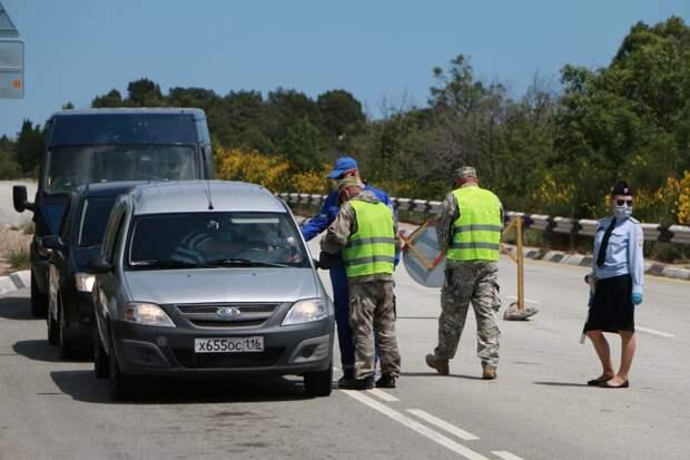 Завтра Развожаев ликвидирует блокпосты на въезде в Севастополь
