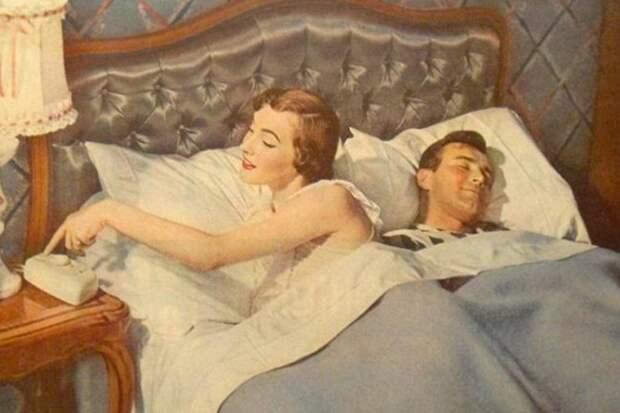 Когда нельзя спать с мужем в одной постели.