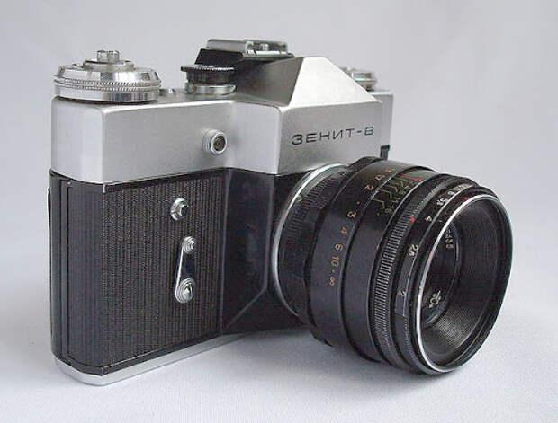 Фотоаппарат Зенит-В - купить , характеристики, отзывы / Fotorox.ru