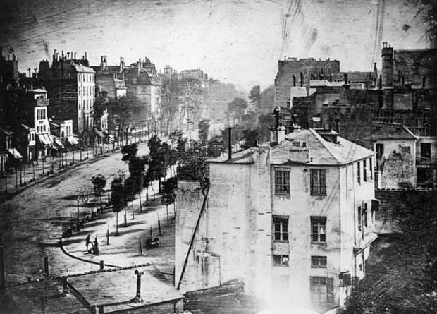 Первые 20 снимков в истории фотографии