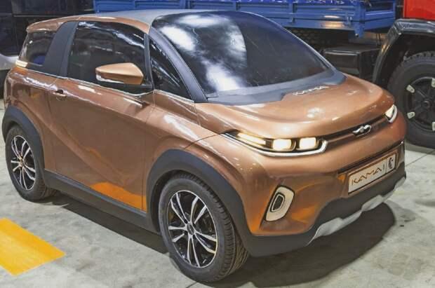 Первый серийный электромобиль появился в России