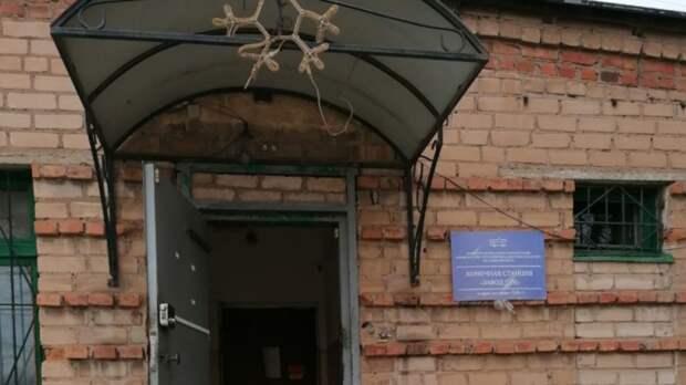 ВОренбурге вдиспетчерской троллейбусного депо обрушилась стена