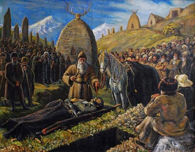 Погребальный обряд как исторический источник