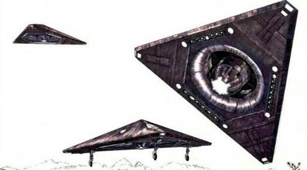 Проект TR-3B: секретные летательные аппараты американской армии