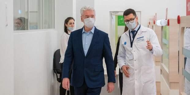 Собянин рассказал о работе службы телемедицины для пациентов с COVID-19. Фото: mos.ru