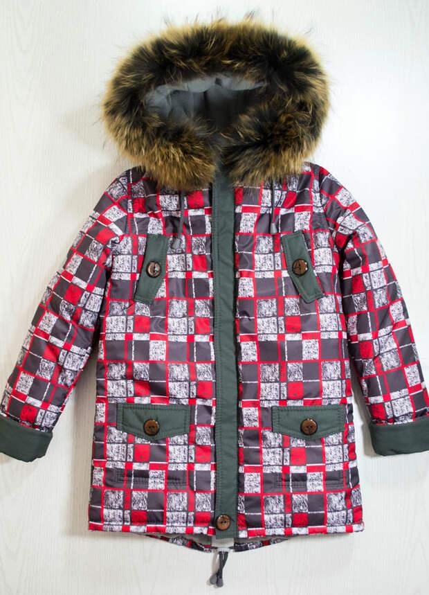 Куртка парка на зиму