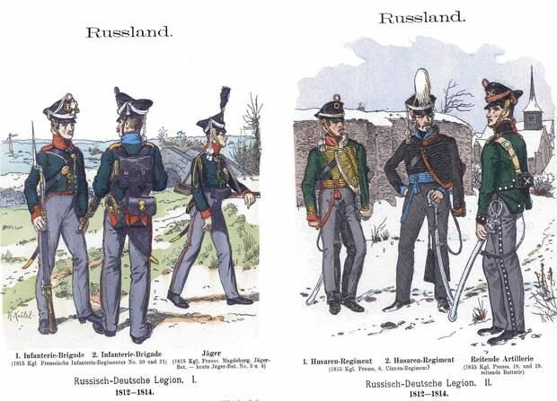 Какие иностранные войска сражались за Российскую империю