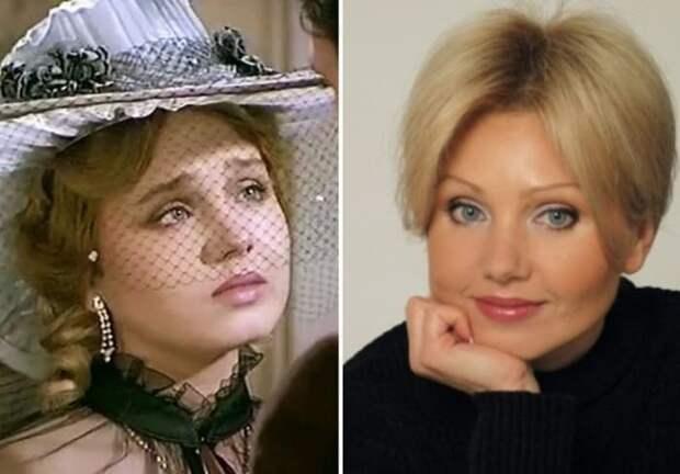 Ирина Климова в сериале *Петербургские тайны* и в наши дни | Фото: kino-teatr.ru