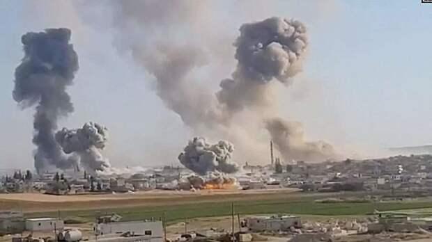 В Сирии сообщили о четырех пострадавших в результате израильской атаки