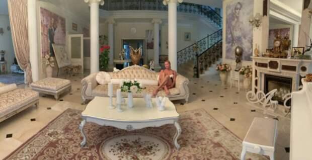 «Дом под стать хозяйке — вульгарщина и пошлость!»: пользователи Сети раскритиковали интерьер шикарного особняка Анастасии Волочковой за 360 миллионов рублей