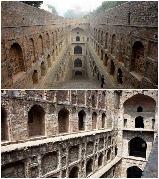 Аграсен-ки-Баоли – один из самых необычных ступенчатых колодцев Индии.